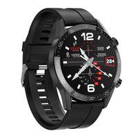 1,28 Zoll Android IOS Smartwatch Körpertemperaturmonitor Fitness Tracker Herzfrequenz EKG Blutdruckmessgerät,IP68 wasserdicht