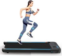 Walkingpad Laufband für Zuhause Gehband Training Laufbänder für Geh- und Lauftraining, Starker & Leiser Motor, Fernbedienung, Bluetooth, bis 110kg Belastbar (DE Lager)