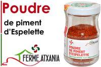Piment D'Espelette A.O.P. 40g Glas