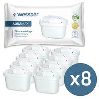 8er pack  Wasserfilter / Filterkartuschen Baugleich zu Brita maxtra kompatibel mit Brita Marella 2.4 l (200l)