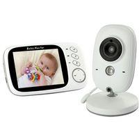ARZOPA VB603 Babyphone 3,2 Zoll Smart Baby Monitor mit LCD Bildschirm Nachtsichtkamera und Temperaturüberwachung