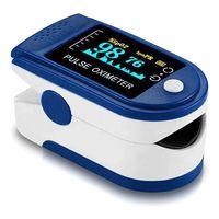 Finger Pulsoximeter Sauerstoff Puls SpO2 Messgerät Oximeter OLED Pulsoxymeter