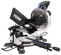 FERM Radialgehrungssäge - Gehrungssäge 1900W - 255mm - mit Laserführung - ink. TCT T60 Sägeblatt und Staubfangsack   HANDWERKER