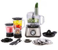 Brabantia BBEK1113B Küchenmaschine | Foodprocessor für die Küche | 1000W | 17.000 RPM | 1.2L Mixbecher | 3 Geschwindigkeitsstufen | Edelstahl