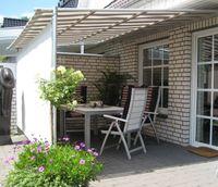 Leco Vlexy Rollo Terrassenüberdachung 3x4 m Markise Sonnenschutz gelb