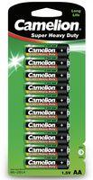 CAMELION Import batteries ZINK-KOHLE AA / LR6 1.5 V - 960 mAh (10 St./Blisterverpackung)