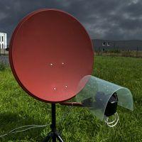 PremiumX LNB Wetterschutzhaube für 1x SAT LNB Haube schützt vor Schnee Hagel Regen - Störungsfrei Fernsehen