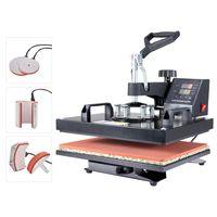 Crenex 5IN1 38x30cm 1250W Transferpresse T-Shirtpresse Textildruck Heißpresse Hitzepresse
