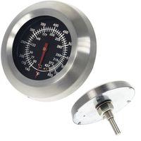 Grillthermometer bis 427 °C für alle BBQ Gasgrills Smoker Grillwagen Räucherofen kabellos