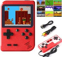 Handheld Spielekonsole Retro Mini Game Player Gameboy mit 400 klassischen FC Spielen 2.8 Zoll LCD Retro Spielkonsole