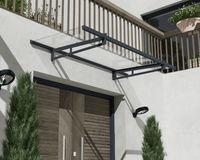 Palram Vordach Eifel 2050 anthrazit Überdachung 205x93 cm Türdach