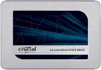 Crucial MX500 SSD 500GB 2.5zoll Micron 3D TLC SATA600 - 7mm