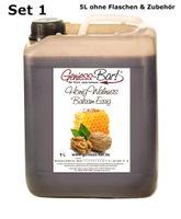 Honig Walnuss Balsam Essig 5L balsamartig, nussig und sehr mild! 5% Säure