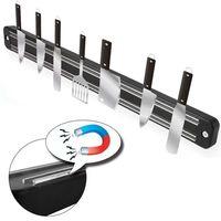 WISFOR Magnetleiste Magnet Messer Halter, 50cm, starker Magnet, Wandmontage
