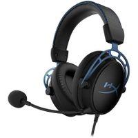 HyperX Cloud Alpha S 7.1 Gaming Headset - schwarz/blau  HYPERX