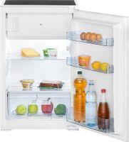 Bomann Einbau-Kühlschrank KSE 7805.1 weiß, 118 Liter inkl. 4 Sterne Gefrierfach