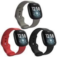 Fitbit Versa 3,Fitbit Sense Band: iMoshion Silikonband Multipack