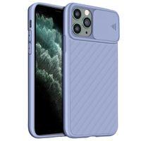 Schutzhülle iPhone 11 Pro Max, Soft Touch Hülle mit Kameraschutz – Hellviolett