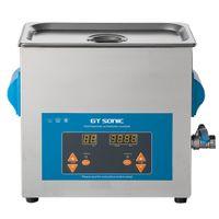 6L GT Sonic Digital Display Ultraschallreiniger Ultrasonic Cleaner Reinigungsgerät Blau Schmuck Gläser Münzen Metallteile