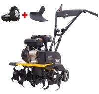 TEXAS Benzin-Bodenhacke Lilli 365TG Dual-Shaft SET Motorhacke Gartenfräse