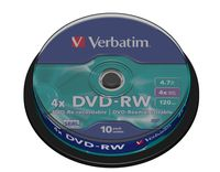 VERBATIM 43552 DVD-RW SERL Rohling
