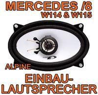 Alpine SXE-4625S - 4x6 Koax-System für MONO Mercedes- JUST SOUND best choice for caraudio