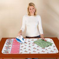 Bügeldecke für Tisch Bügelunterlage Mehrfarbig Blütenpracht