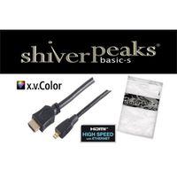 shiverpeaks HDMI A-Stecker/HDMI D-Stecker micro verg HEAC 3m