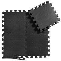 Bodenschutzmatten Set Unterlegmatten Bodenschutz Schutzmatten Puzzlematte 36-tlg