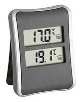 TFA 30.1044 Digitales Innen-Außen-Thermometer ohne Batterie