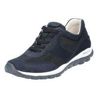 Gabor Comfort Sneaker  Größe 6, Farbe: nightbl.(S.w/blau)