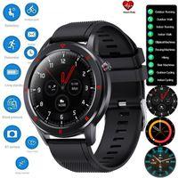 ATOKIT Bluetooth Smart Watch Android Uhr Herren- und Damenuhr Fitness Tracker Herzfrequenzmesser IP68 Wasserdicht