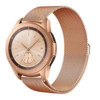 Samsung Milanaise rose gold Ersatz Armband, Farbe:Rose