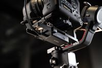 "DJI RS 2, Handkamerastabilisator, Schwarz, 1/4"", Universal, 360°, 0 - 360°"