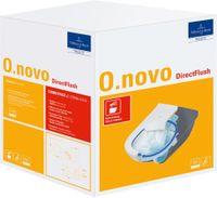 Villeroy & Boch Combi-Pack DirectFlush O.NOVO inkl. Wand-WC tief DirectFlush und WC-Sitz weiß