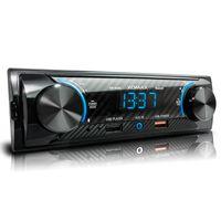 XOMAX XM-R280: 1DIN, Autoradio mit Bluetooth, USB, AUX IN, ohne Laufwerk