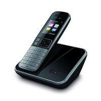 Telekom Sinus 606 Strahlungsarmes Schnurlostelefon, Farbdisplay, Rufnummernanzeige, 18h Sprechzeit, 9 Tage Standby, Freisprechfunktion, Babyfon-Funktion, DECT