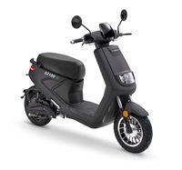 Elektroroller LuXXon E2100 - E-Roller mit 2000 Watt Motor, max. 45 km/h, Reichweite bis zu 71 km, schwarz