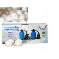 Aqualoon Filtermaterial Karton 700 gr auch für Intex Filter Type A Poolfilter
