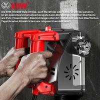 XIIW® XTB1600 Betonfräse Winkelschleifer Fräsmaschine Betonschleifer Sanierungsfräse 1600W 1000-4000 UPM Betonfräse Schleifer Putzfräse Mauerfräse