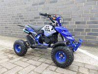 Quad Miniquad Kinder KXD ATV 5A 4 Zoll 49ccm 2 Takt Pocketquad Kinderquad Blau