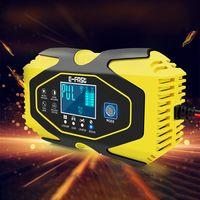 Ladegerät Autobatterie 12V/24V Batterieladegerät KFZ Motorrad Vollautomatisches Intelligentes Erhaltungsladegerät