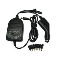 Universal KFZ 12V/24V Adapter 80W für Laptop Notebook Beamer Router im Auto Wohnmobil 15V/16V/18V/19V/20V/22V/24V bis 4A