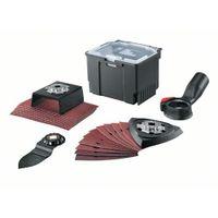 Bosch 24-teiliges Starlock-Set für Schleifarbeiten, AVZ | AUZ | Absaugung | Schleifpapier
