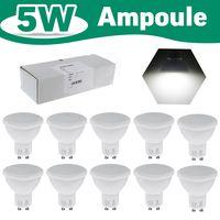 10er 5W GU10 Leuchtmittel LED Spot Lampe Strahler Birne Leuchte kaltweiß 6000K
