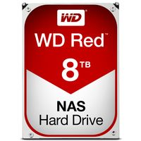WD Red 8TB 3,5 Zoll SATA 6Gbit/s NAS-Festplatte (WD80EFAX) 256MB Cache