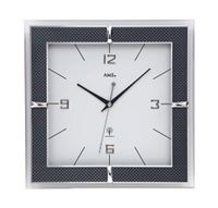 AMS Funk-Wanduhr, Funkwerk, 30x30x4cm, 5855