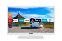 Telefunken XF22G501V-W 55 cm (22 Zoll) Fernseher (Full HD, Triple Tuner, Smart TV, 12 V, Works with Alexa)