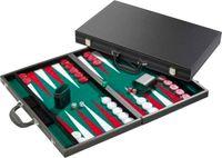 Backgammon 46x30cm Deluxe eingelegt