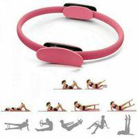 Pilates Ring, Yoga Ring Premium Widerstandsring Circle, Pilates Circle, Yoga Ausrüstung, Trainingsgeräte für Zuhause zum Training & zur Stärkung der Inneren und äußeren Oberschenkel
